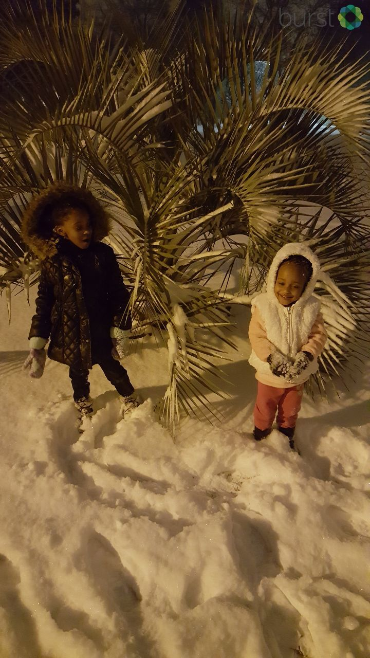 Jackson shared her grand-babies playing in the snow! (Submitted by Lafeyette Jackson)
