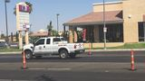 Woman killed after being struck by Clark County vehicle near Eastern and Warm Springs