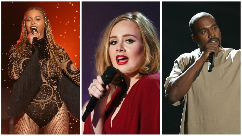 Beyonce, Adele, Kanye West earn top nominations at MTV VMAs
