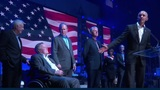 5 living ex-presidents attend Texas hurricane relief concert