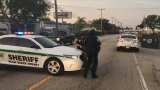 Shots fired following an armed robbery in West Palm Beach