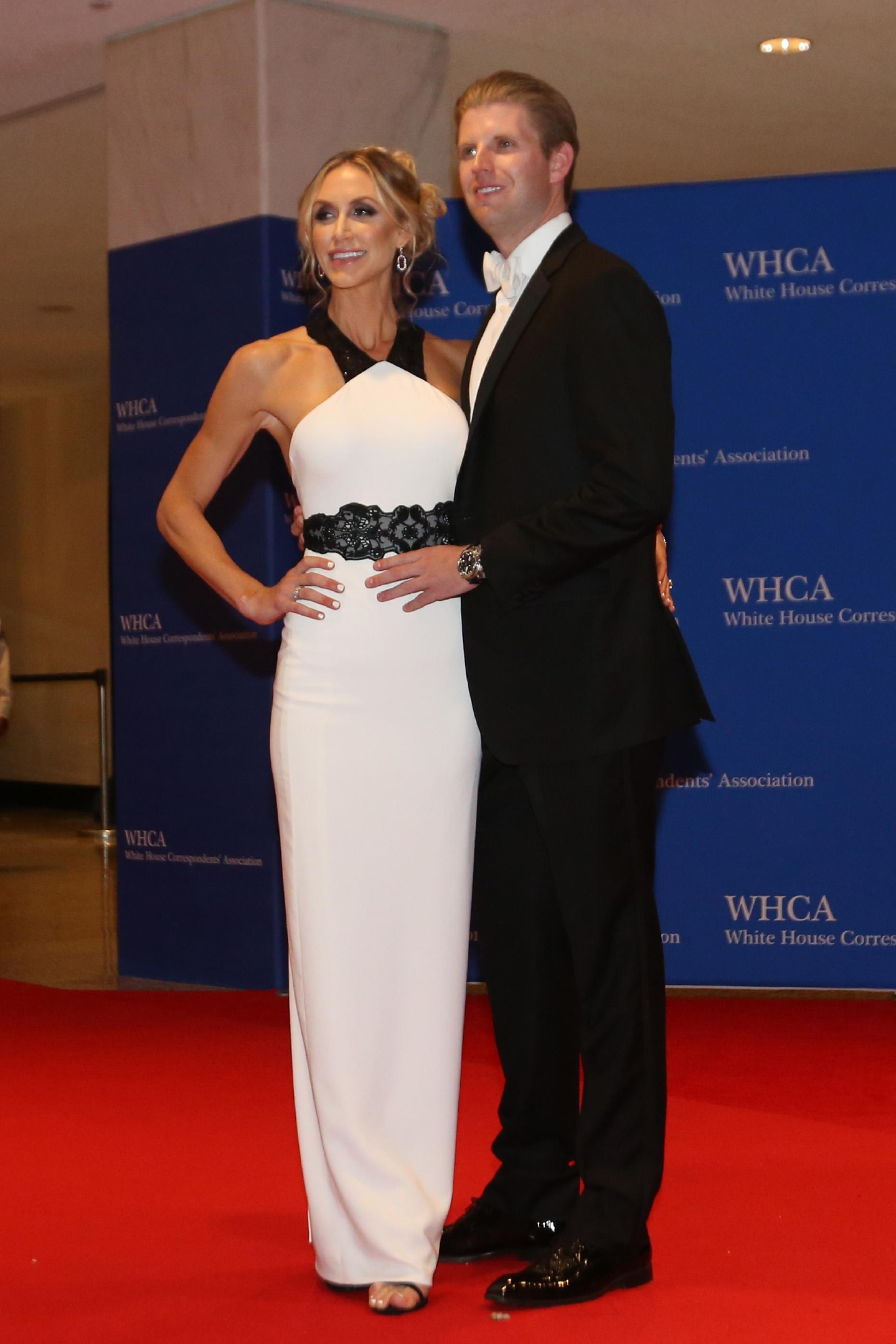Is this the last time a Trump was seen on the WHCD red carpet?? This is from the 2016 dinner, by the way. (Image: Amanda Andrade-Rhoades/ DC Refined)