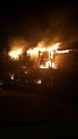 The Ambassador House Apartments caught fire just after 5:00 AM Thursday.