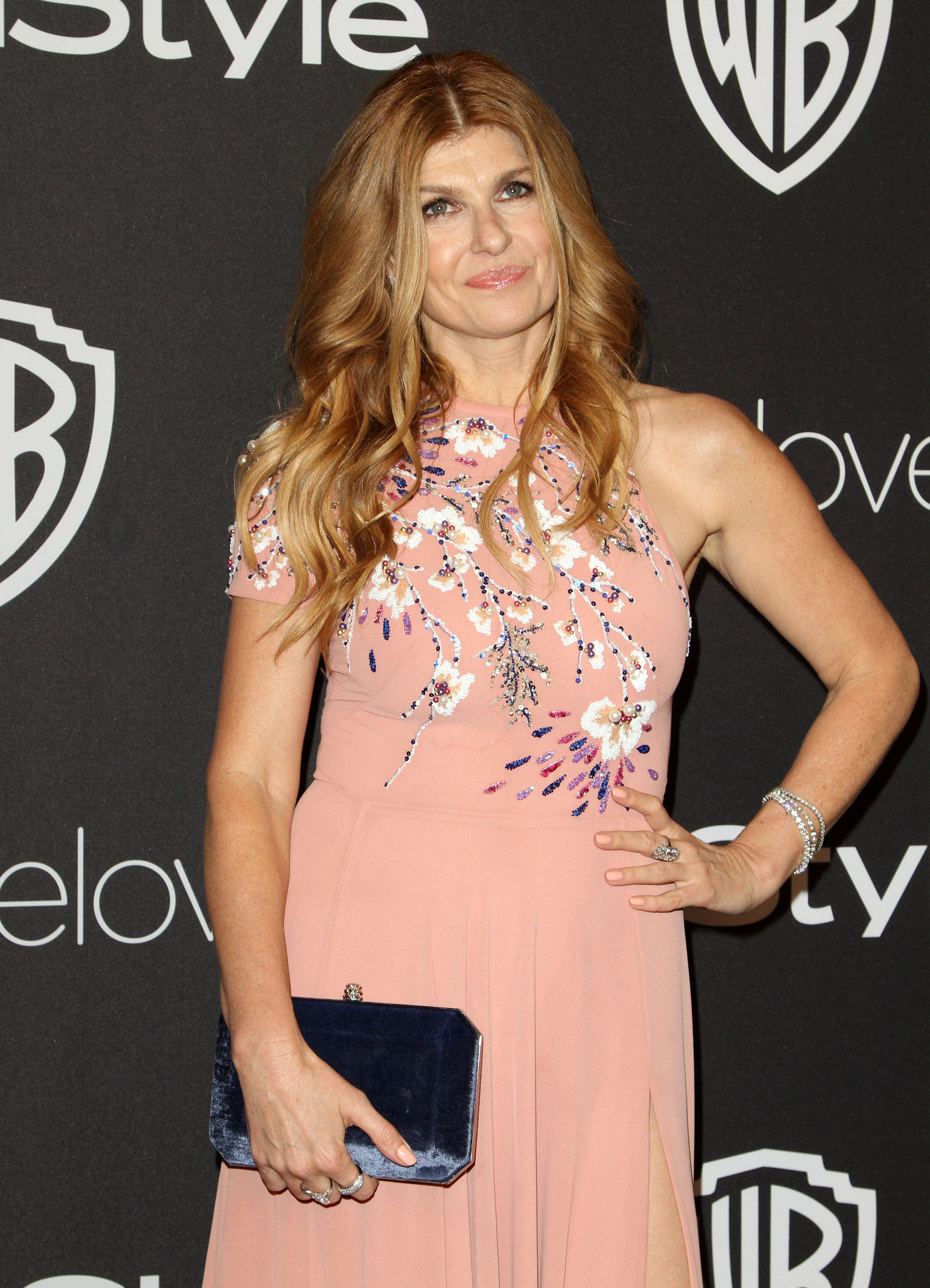 InStyle & Warner Bros. Pictures Golden Globe After Party 2017 held at the Beverly Hilton Hotel - Arrivals  Featuring: Connie Britton Where: Los Angeles, California, United States When: 09 Jan 2017 Credit: Adriana M. Barraza/WENN.com