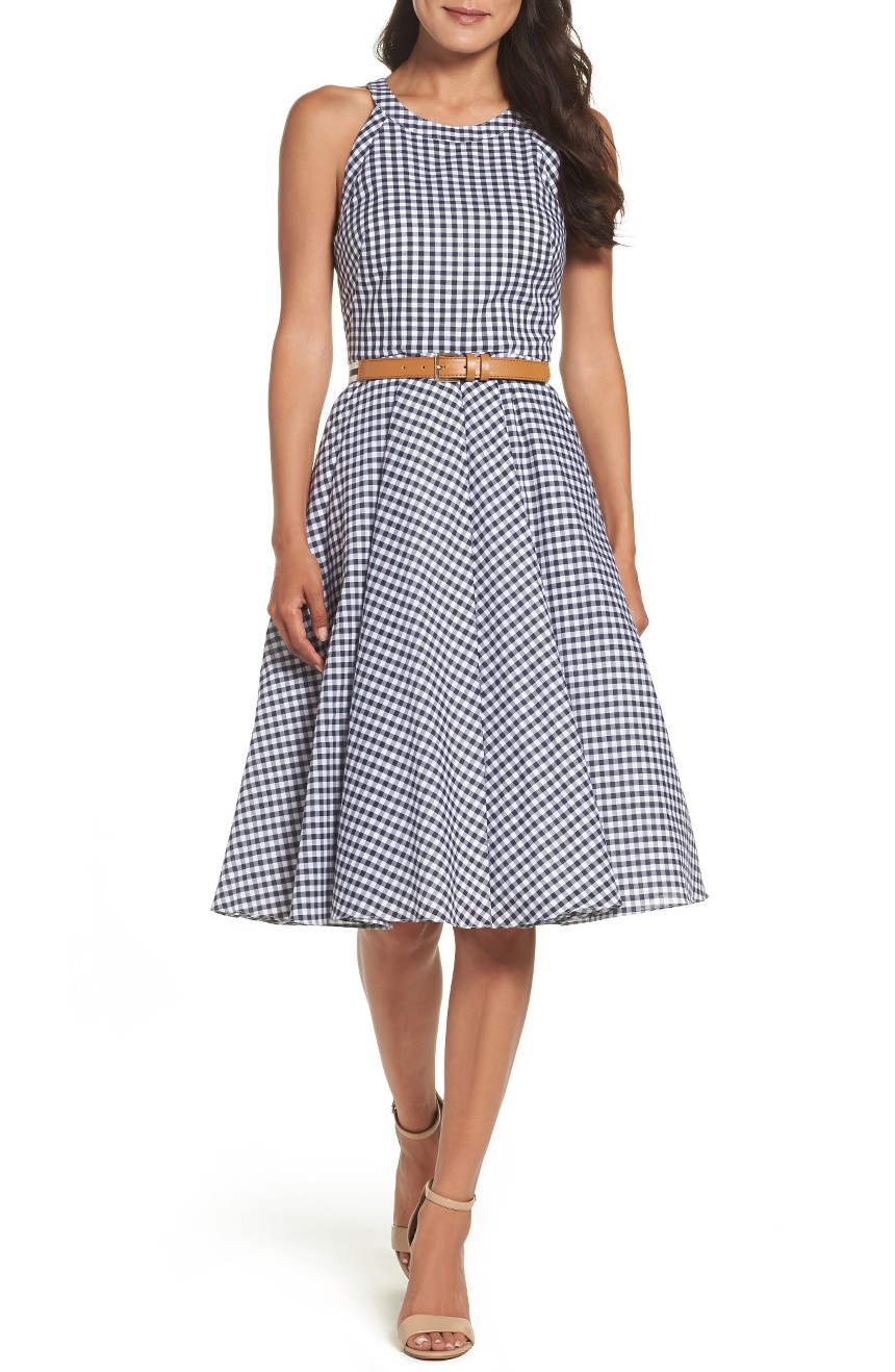 Belted Fit & Flare Dress, $128                                    (Image: Nordstrom)