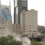 Sullivan Tower being imploded in Nashville's Gulch area