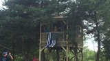 Officers finish tree house that fallen Trooper Joel Davis started for his daughter
