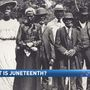 The community celebrates the history of Juneteenth