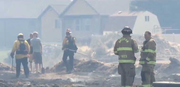 Fire evacuees must wait until at least Wednesday before returning home (Photo: KUTV)
