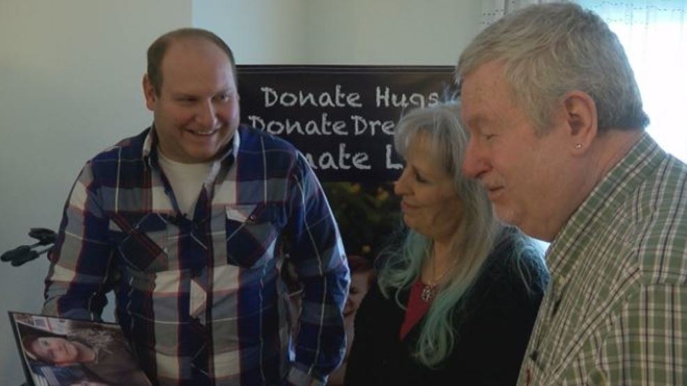 Organ donor's family meets the woman whose life was saved by donation for the first time