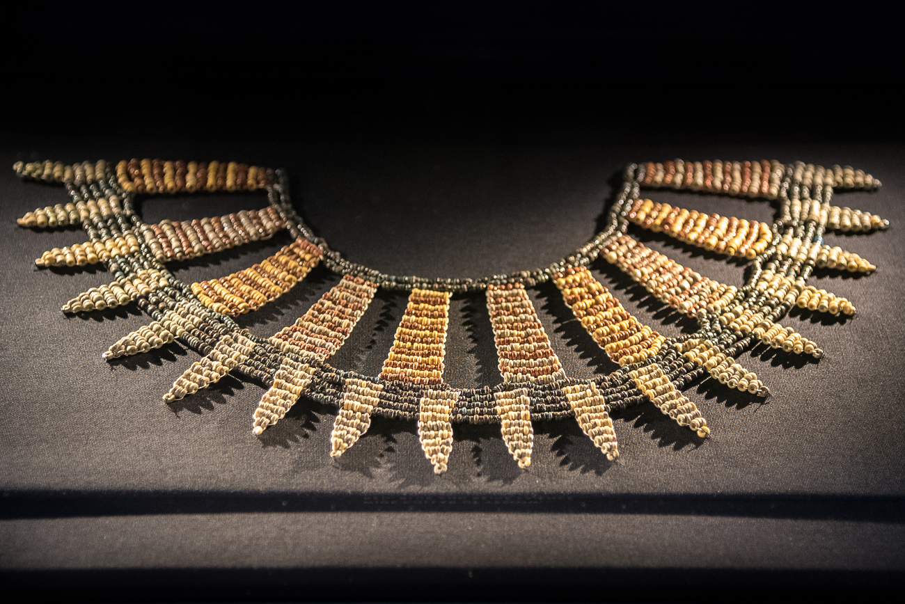 Jewelry from sometime between the 3rd century and 1st century BC{ }/ Image: Phil Armstrong, Cincinnati Refined // Published: 2.15.19