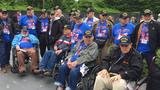 Photos: Honor Flight visits Korean War Veterans Memorial