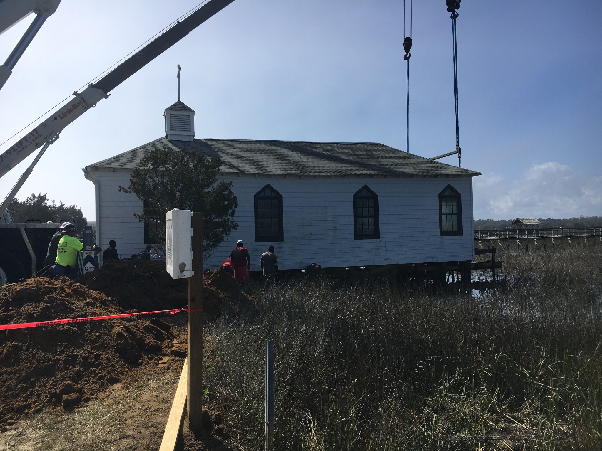 Chapel on the move in Pawleys Island, (WPDE){&amp;nbsp;}<p></p>