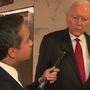 Hatch says 'Dems will do anything to hurt this president' amid hush money allegations