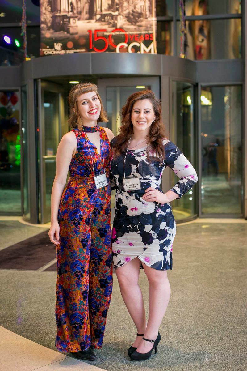 Pictured: Maddie Keyelson and Emily Murdock / Event: CCM's A Moveable Feast (1.19.18) / Image: Mike Bresnen Photography // Published: 2.2.18