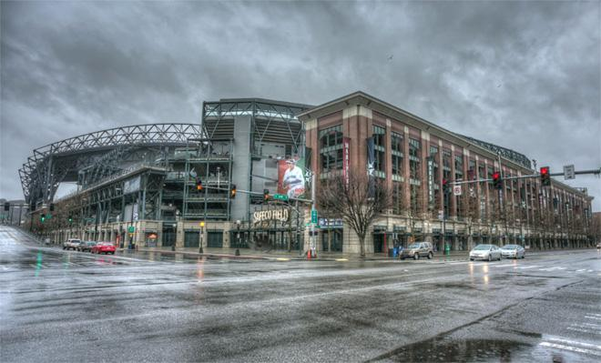 Safeco Field January 10th early evening -- (Photo: YouNews contributor: MikeDoll)