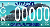 Oregon whale license plate will be available to purchase in 2019