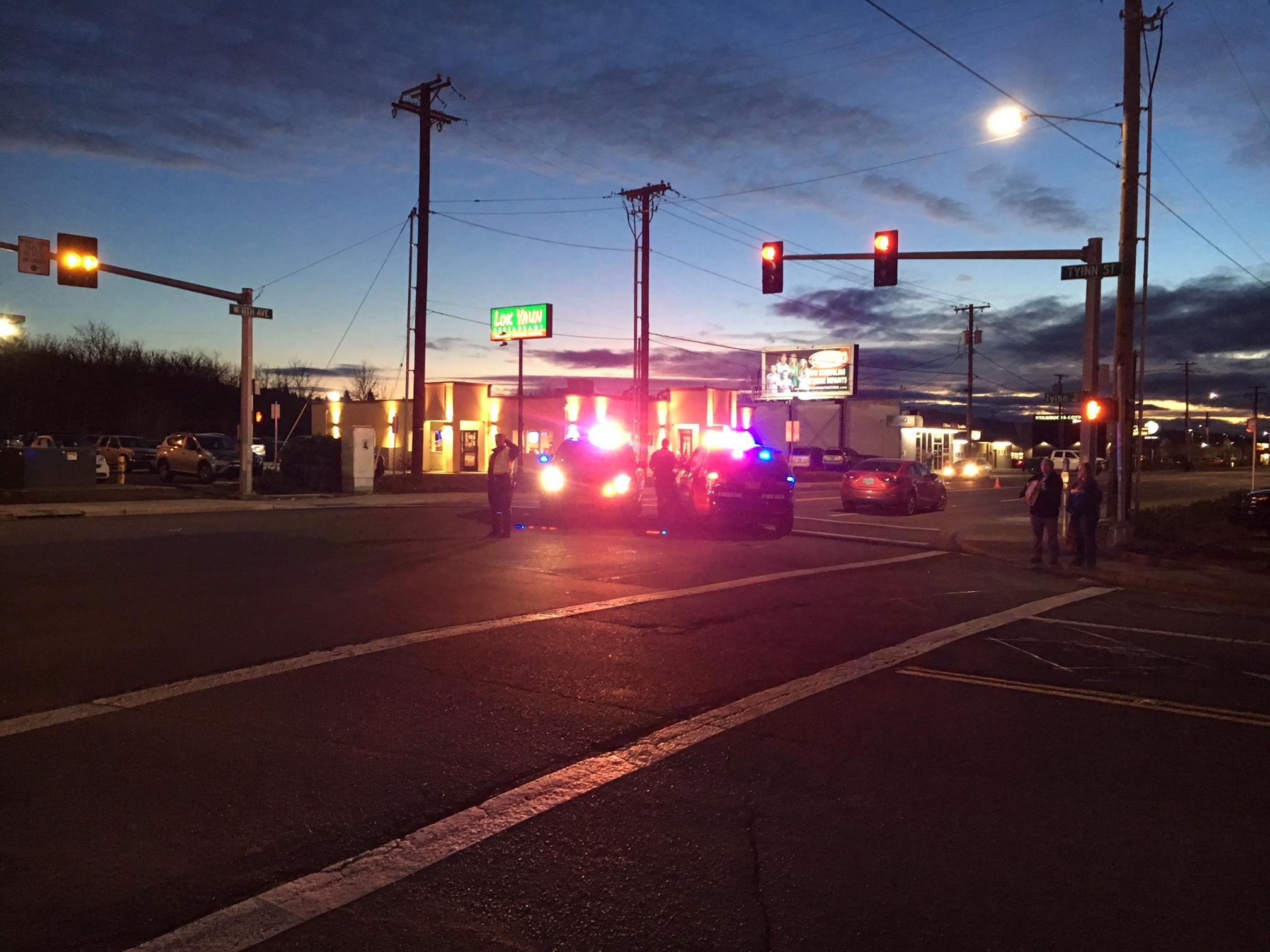 Vehicle vs. Pedestrian accident on West 11th sends one to hospital (SBG).<p></p>