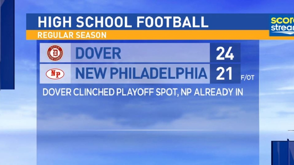 10.28.16 Highlights: Dover at New Philadelphia