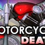 Man dies after being hit by car while on motorcycle