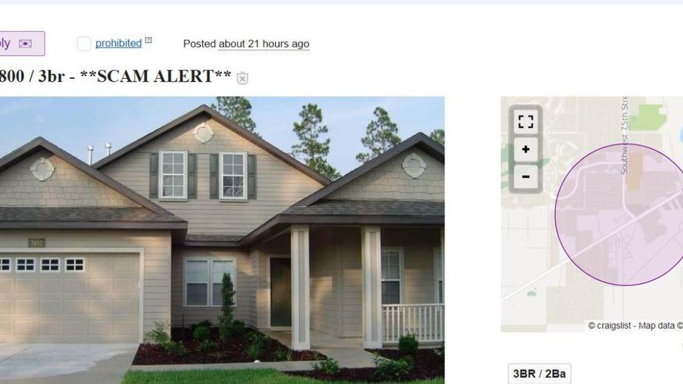 Popular rental scam flooding Gainesville housing websites | WGFL