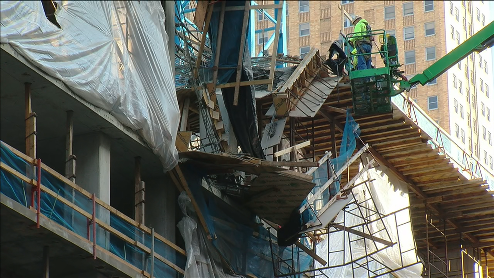 Recovery efforts for construction worker trapped during collapse enters 2nd day