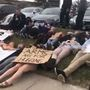 Omaha students stage die-in outside Senator's office