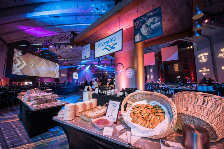 The 2017 RAMMY Awards Gala at the Walter E. Washington Convention Center featured an array of foods from around the world including Argentina. (Image: Courtesy Events DC)