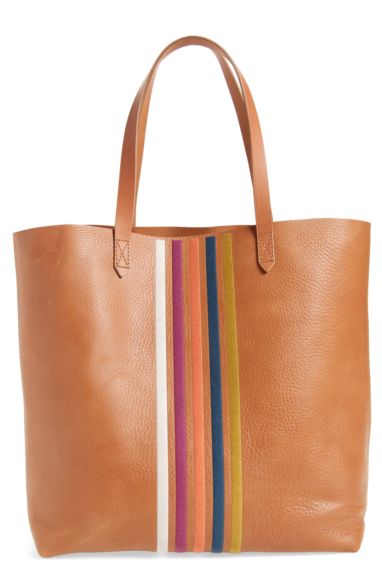 "Adding this{&nbsp;}<a  href=""https://www.nordstrom.com/s/madewell-the-transport-stripe-embroidered-tote/5612387?origin=keywordsearch-personalizedsort&breadcrumb=Home%2FAll%20Results&color=desert%20camel%20rainbow"" target=""_blank"" title=""https://www.nordstrom.com/s/madewell-the-transport-stripe-embroidered-tote/5612387?origin=keywordsearch-personalizedsort&breadcrumb=Home%2FAll%20Results&color=desert%20camel%20rainbow"">Madewell Transport Tote</a>{&nbsp;}to my list for sure! $119.90 (after sale $198) (Image: Nordstrom)"