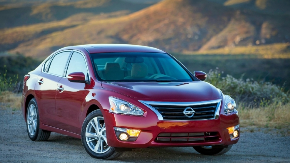 Nissan Recalls Altima Door Might Open If Window Rolled Down