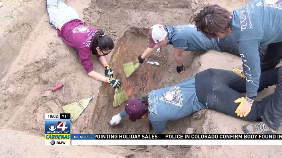 Anthropology group begins exhuming remains of unidentified