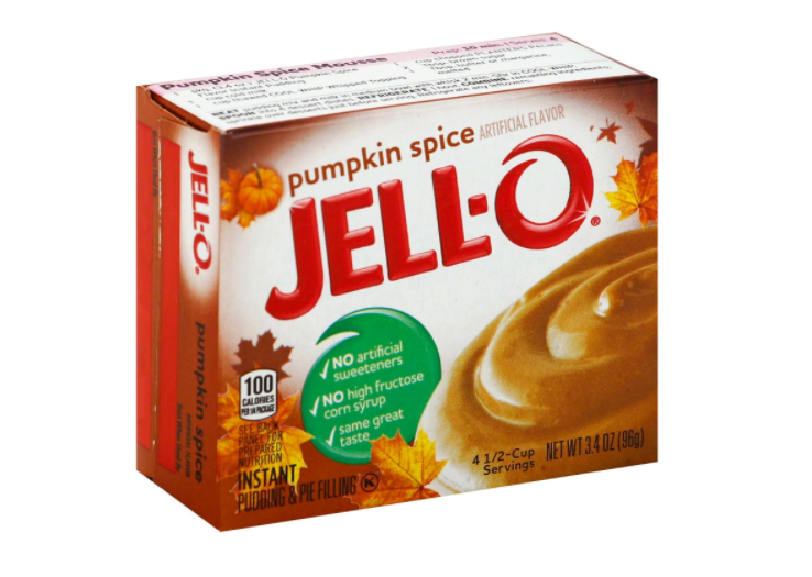 Jello-O Pudding and Pie Filling, $1.89 (Image courtesy of Jell-O).{&amp;nbsp;}<p></p>