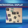Teacher under fire for controversial display in classroom