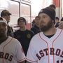 Astros Caravan in SETX; they meet first responders and lend helping hand