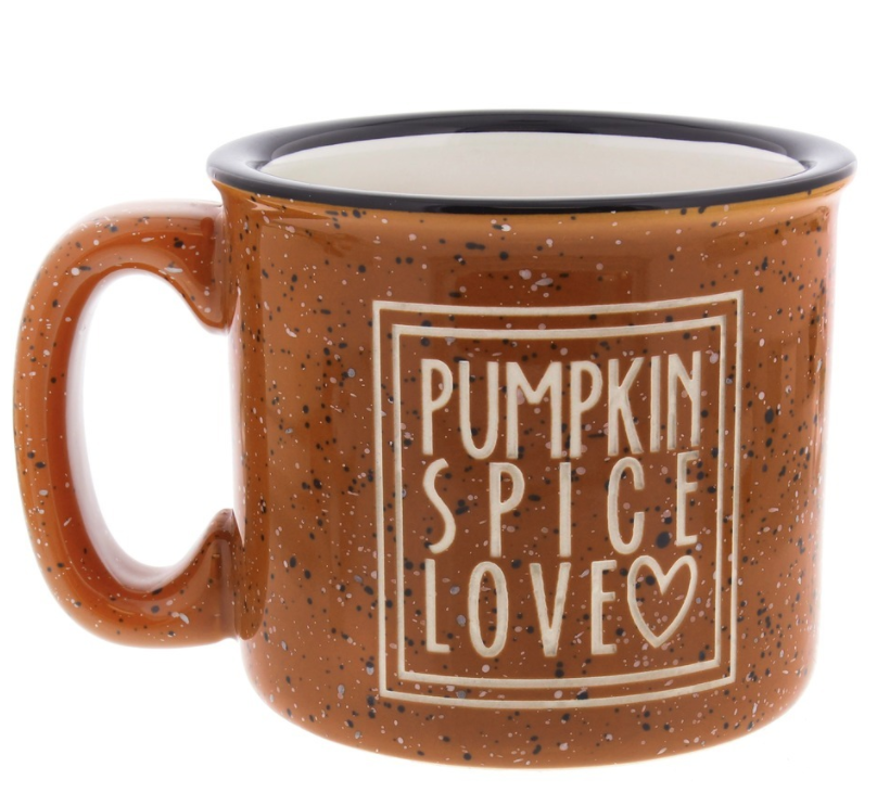 Pumpkin Spice Love Mug by the Catholic Company, $19.75 (Image courtesy of Catholic Company)<p></p>