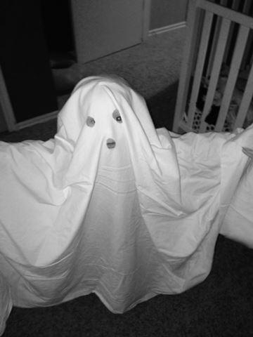FOX 25 Primetime News at Nine producer Stephanie Harris' son William is going as a ghost.