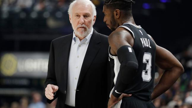 WATCH: Chris Paul says the Spurs aren't the Spurs without Popovich