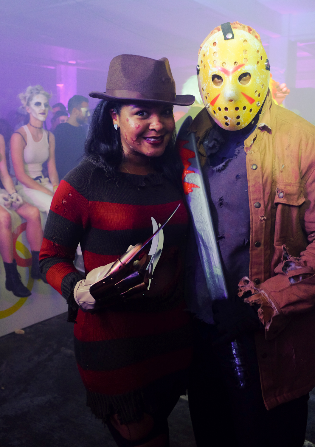 Freddy Krueger and Jason / Image: Melissa Doss Sliney