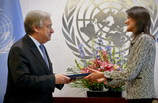 UN chief: US will be replaced if it disengages from world   KEYE