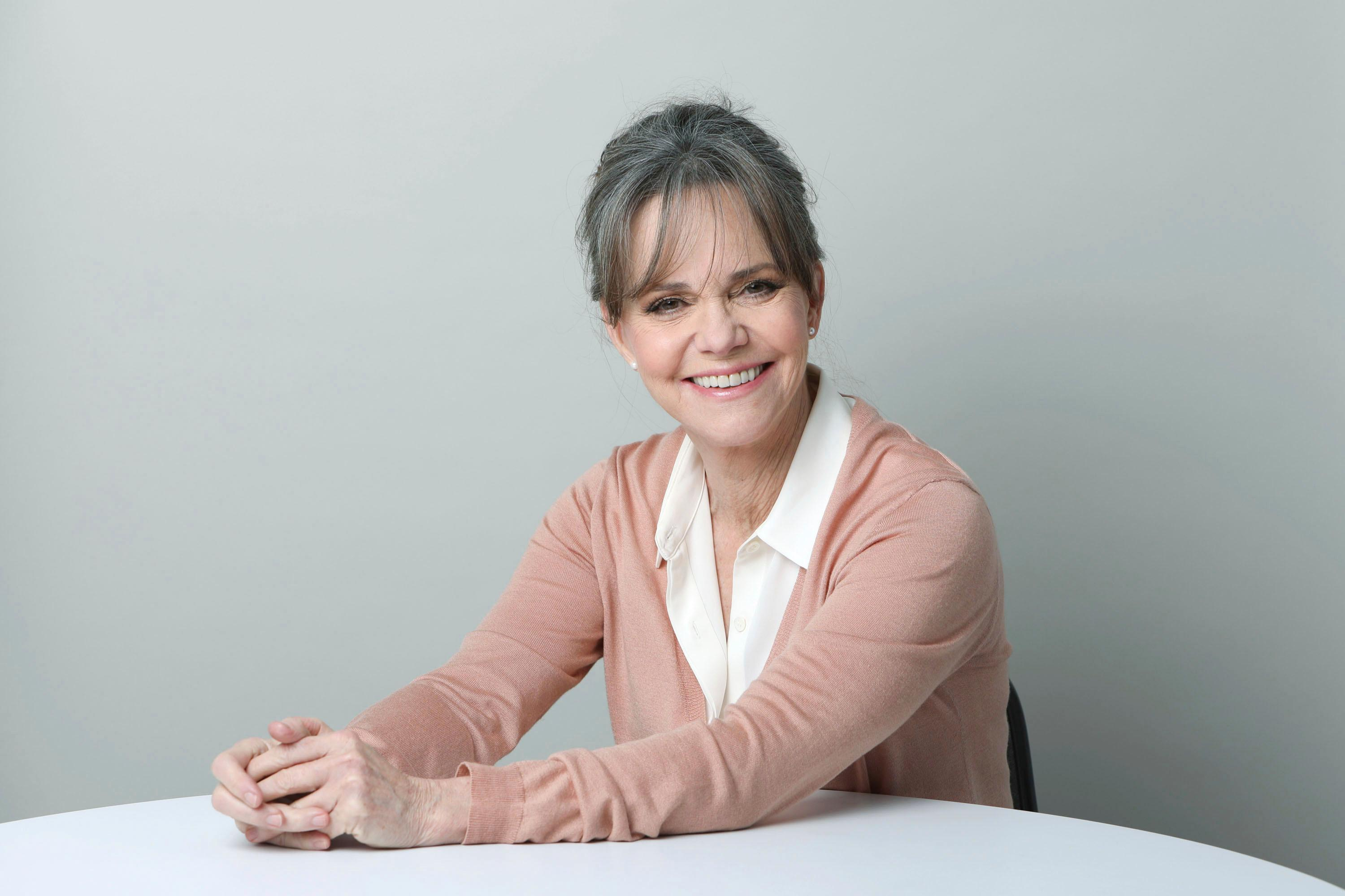 "FILE - In this March 3, 2017 photo, actress Sally Field poses for a portrait in New York. Field has an agreement with Grand Central Publishing for ""In Pieces,"" scheduled for next fall. (Photo by Amy Sussman/Invision/AP)"