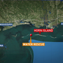 Coast Guard rescues 7 people from capsized boat near Horn Island, Miss.