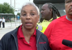 Metrobus drivers speak during news conference.PNG