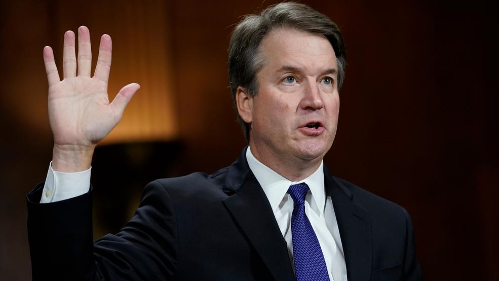 Kavanaugh 2nd oath Dr. Ford hearing AP19.jpg