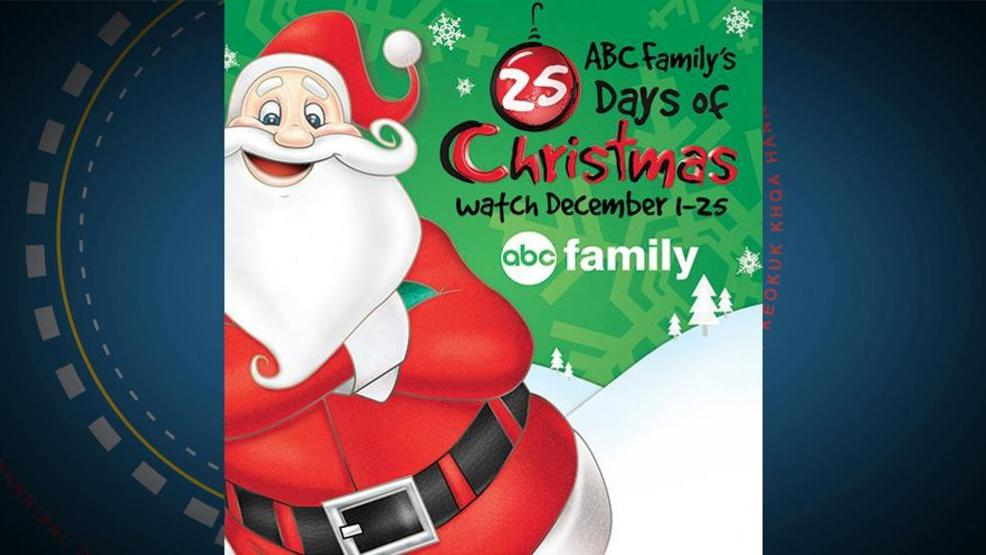 holiday programming schedule for abc