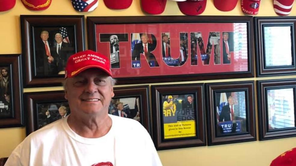 Carolina Forest man wants everyone in a MAGA hat