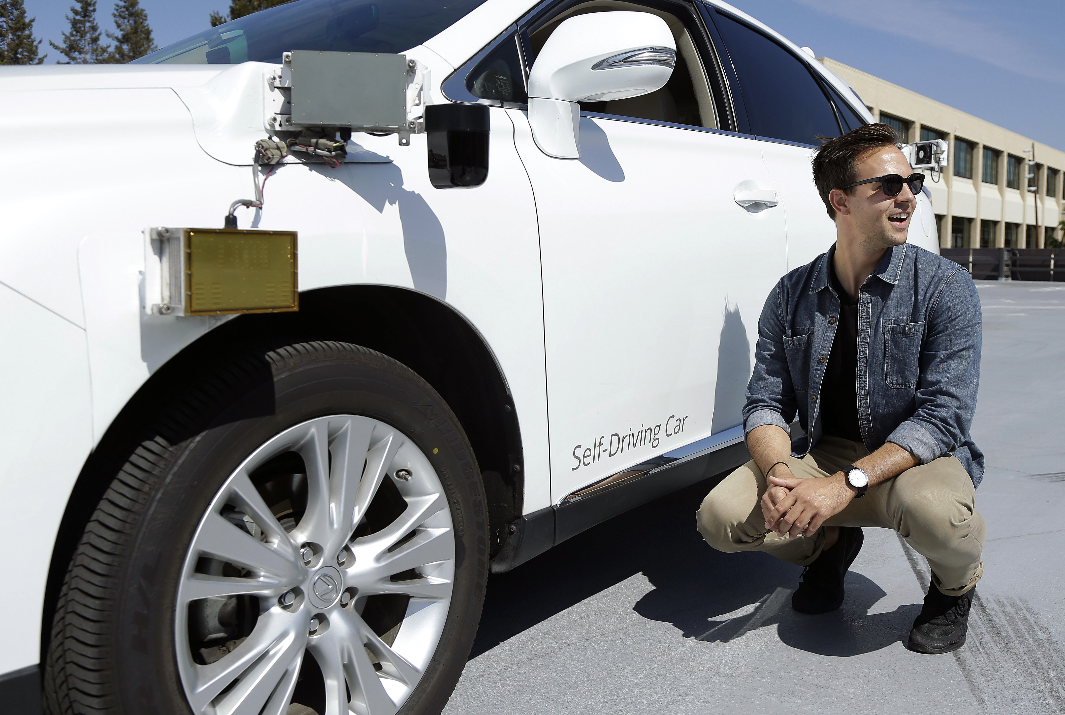 Googles driverless car drivers ride a career less traveled  WNWO