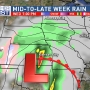Active week kicks off with more chances for rain