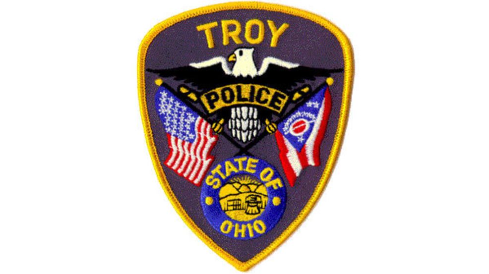 TROY OHIO OH state flag POLICE PATCH