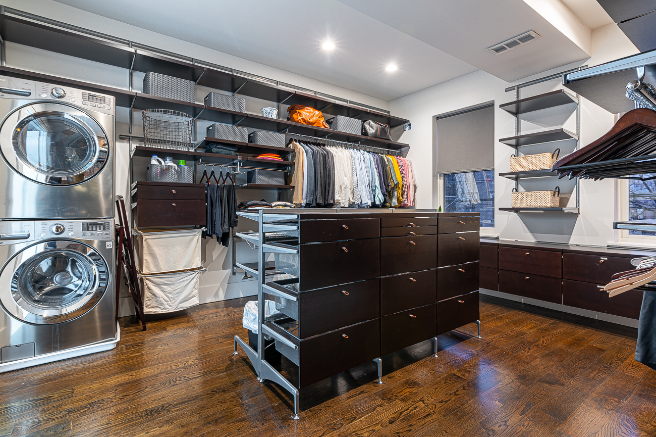 The master bedroom's walk-in closet is a thing of dreams. / Image: Phil Armstrong // Published: 12.6.19