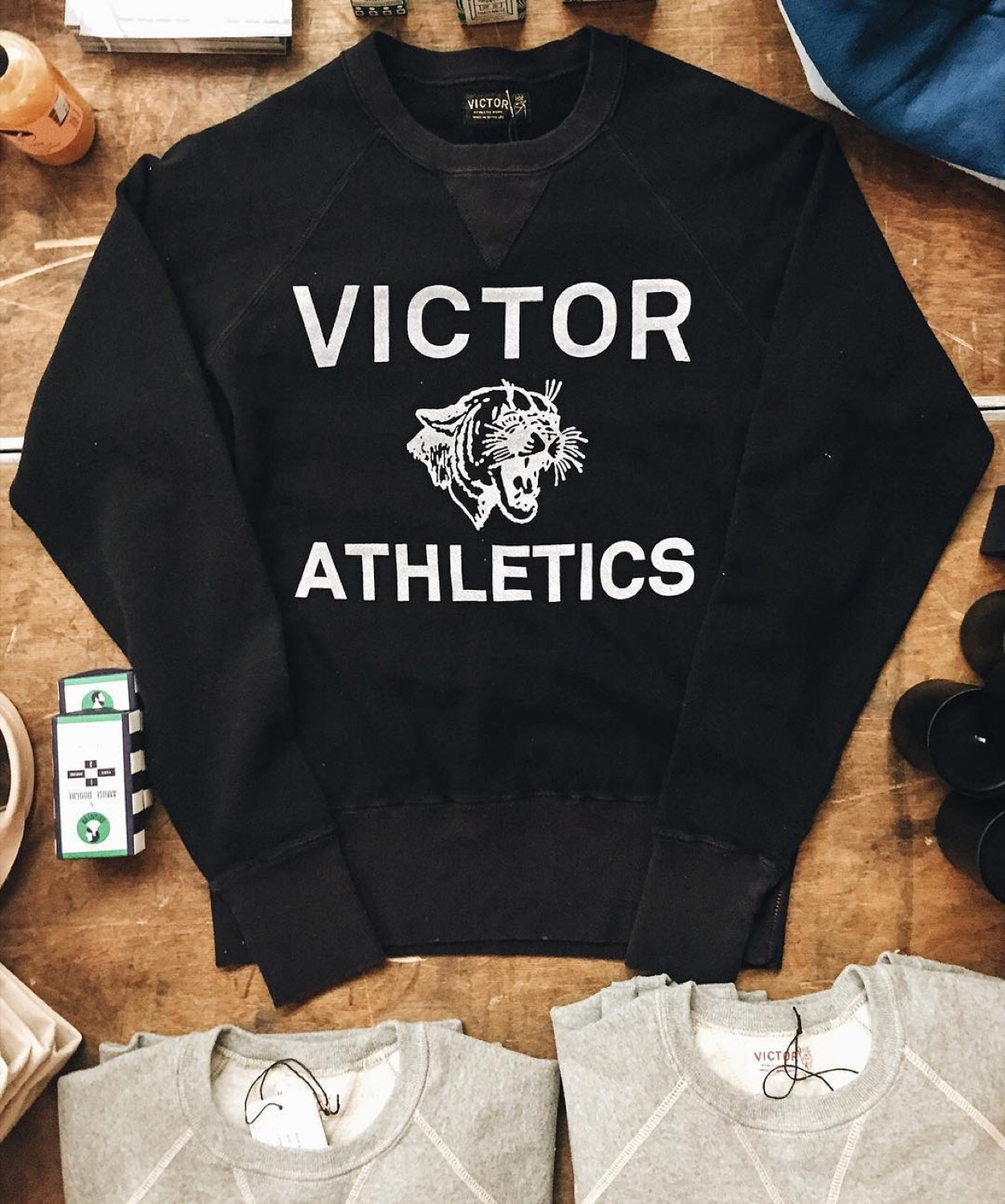 VICTOR ATHLETICS CLUB / Victor is a socially conscious brand that does socially conscious things. They make their clothing in the USA, and they use organic fabrics too. / ADDRESS: 1405 Republic Street, OTR / Image courtesy of Victor Athletics Club // Published: 3.15.17